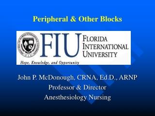 Peripheral & Other Blocks