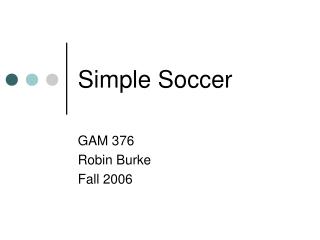 Simple Soccer