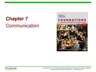 Chapter 7 Communication