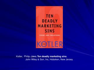 kotler chapter 10th Principles of marketing, 10th edition kotler, philip armstrong, gary 2,079 ratings by goodreads  real world applications appear in every chapter and every vignette is new or has been updated the text is complemented by an extensive ancillary package, from all new videos on vhs, online, and dvd to a new presentation manager cd-rom for.