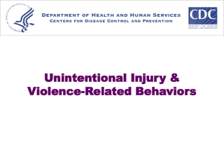 Unintentional Injury & Violence-Related Behaviors