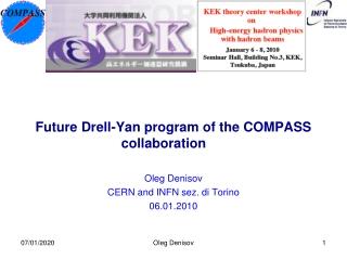 Future Drell-Yan  program  of the COMPASS collaboration