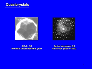 Quasicrystals