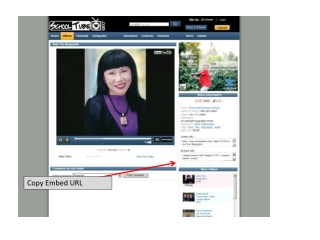 Copy Embed URL