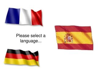 Please select a language...