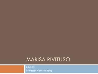 Marisa Rivituso