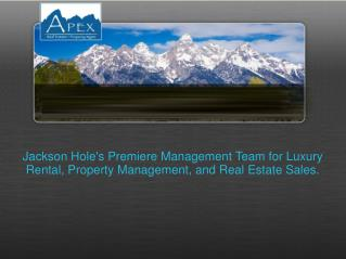 Apex Jackson - Real Estate & Property Management Services