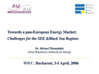 BSEC,  Bucharest, 3-5 April, 2006