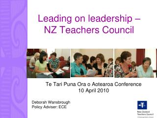 Leading on leadership – NZ Teachers Council