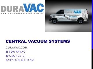 Long Island Central Vacuum, Duravac