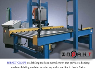 Who Providers The BestStrapping Machine In South Africa?