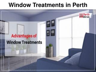 Window Treatments in Perth