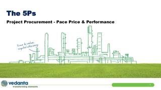 Project Procurement - Pace Price & Performance