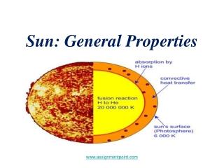 Sun: General Properties