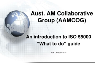 Aust. AM Collaborative Group (AAMCOG)
