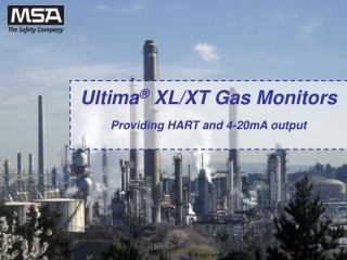 Ultima ®  XL/XT Gas Monitors Providing HART and 4-20mA output
