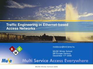 Traffic Engineering in Ethernet-based Access Networks