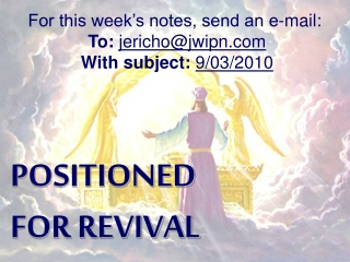 POSITIONED  FOR REVIVAL
