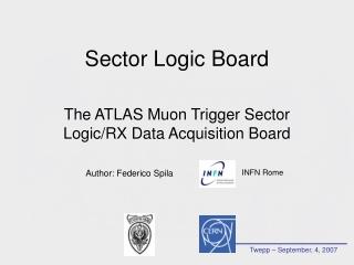 Sector Logic Board