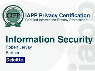IAPP Privacy Certification