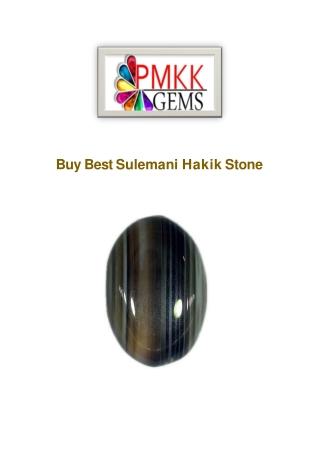 Buy Sulemani Hakik Gemstone Online