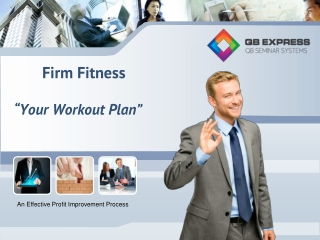 """Firm Fitness """"Your Workout Plan"""""""