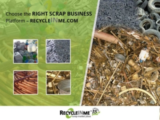 Reliable Scrap Business Online Portal – Recycleinme
