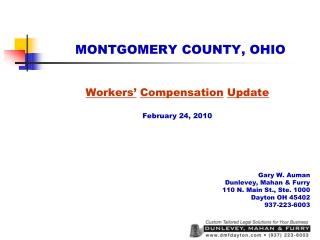 MONTGOMERY COUNTY, OHIO