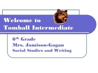 Welcome to  Tomball Intermediate