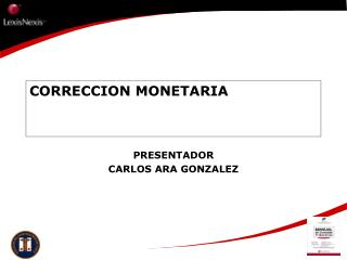 CORRECCION MONETARIA