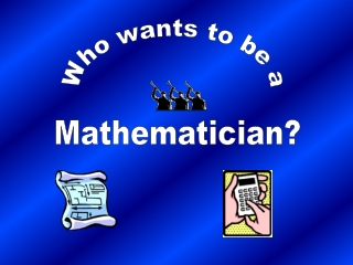 Mathematician?