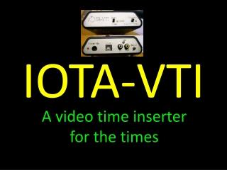 IOTA-VTI