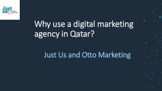 Marketing Agency in Qatar