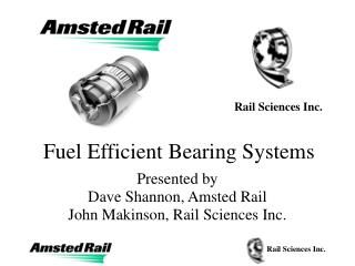 Fuel Efficient Bearing Systems