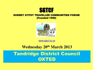 Tandridge District Council OXTED