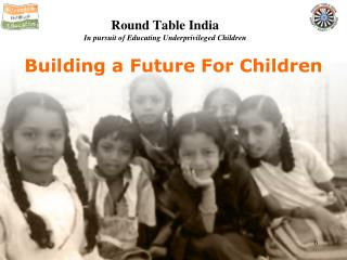 Building a Future For Children