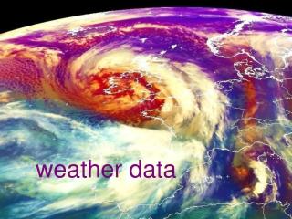 weather data