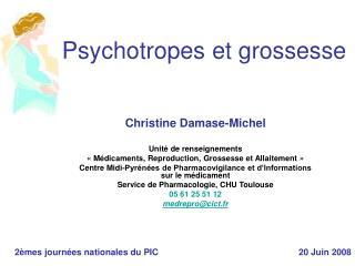 Psychotropes et grossesse