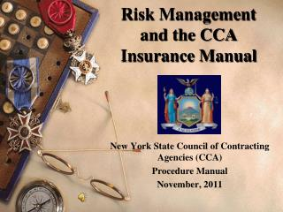 Risk Management and the CCA Insurance Manual