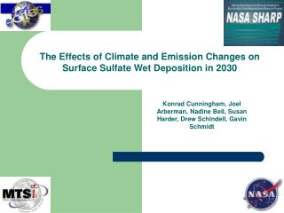 The Effects of Climate and Emission Changes on Surface Sulfate Wet Deposition in 2030