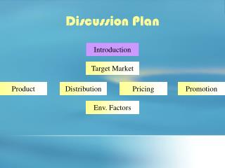 Discussion Plan
