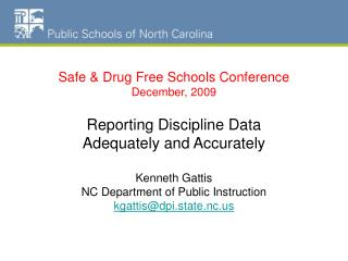 NC Schools Dropout Data
