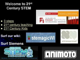 Welcome to 21 st Century STEM