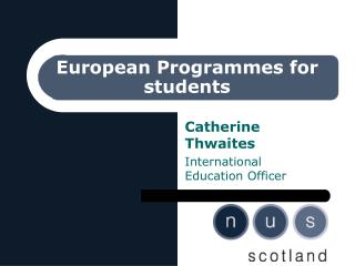 European Programmes for students