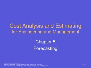 Cost Analysis and Estimating for Engineering and Management