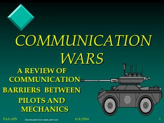 COMMUNICATION WARS