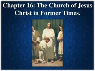 Who Is Jesus and Who Are His Apostles