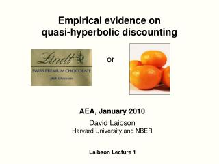 Empirical evidence on  quasi-hyperbolic discounting
