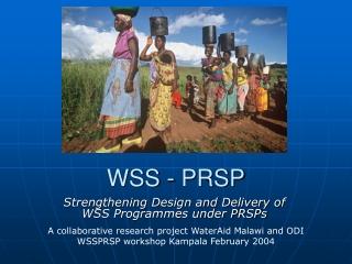 WSS - PRSP