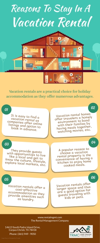 Reasons To Stay In A Vacation Rental